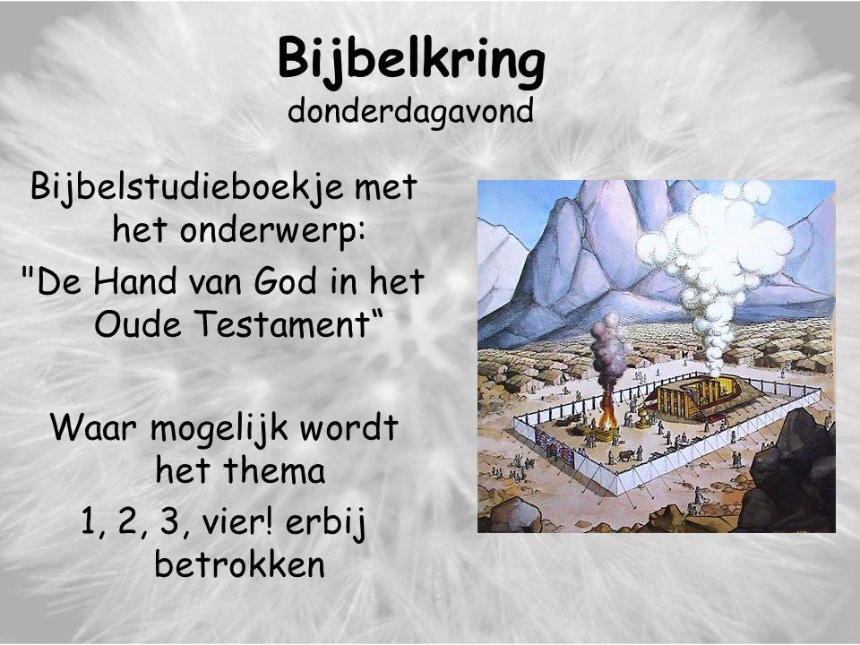 Bijbelkring donderdagavond