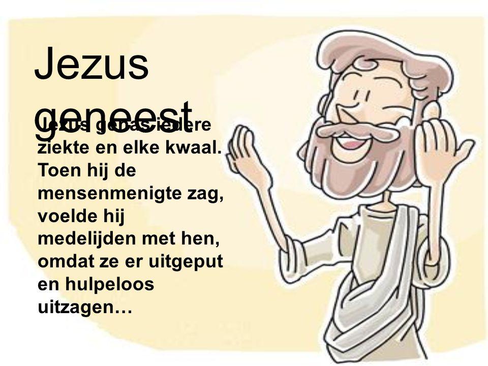 Jezus geneest