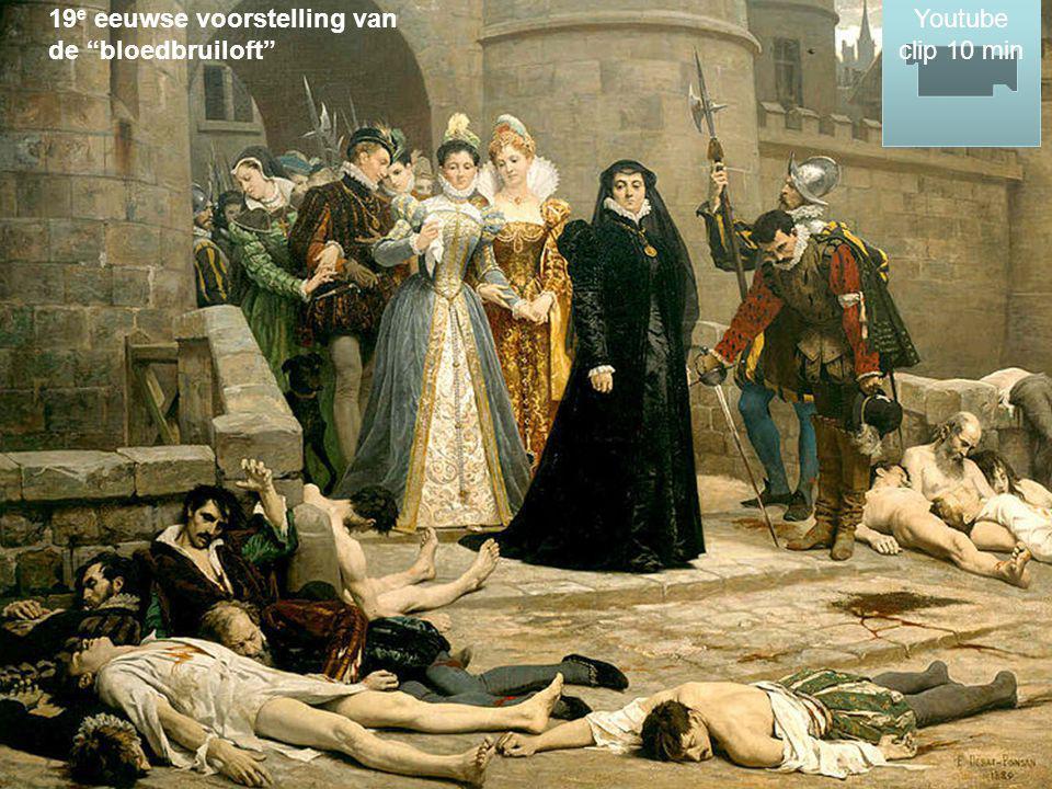 19e eeuwse voorstelling van de bloedbruiloft
