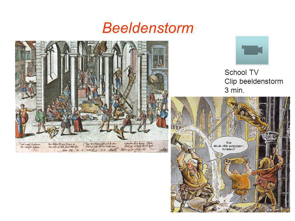 Beeldenstorm School TV Clip beeldenstorm 3 min.