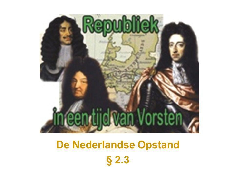 De Nederlandse Opstand § 2.3