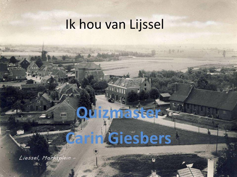 Quizmaster Carin Giesbers