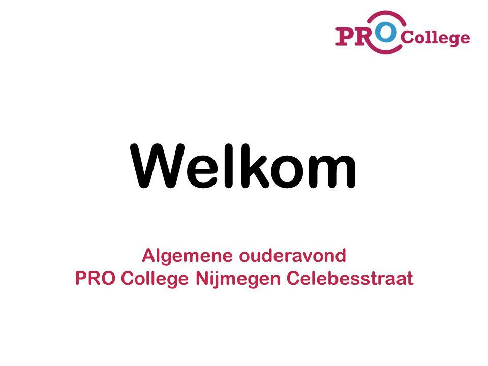 Algemene ouderavond PRO College Nijmegen Celebesstraat