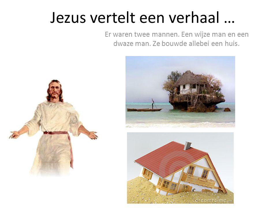 Jezus vertelt een verhaal …