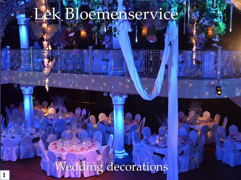 Lek Bloemenservice Wedding decorations 1