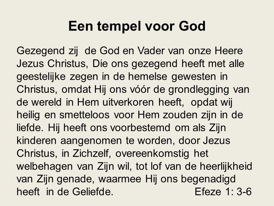 Een tempel voor God