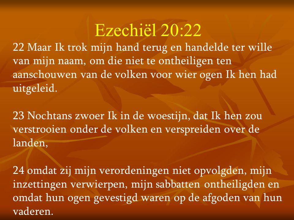 Ezechiël 20:22