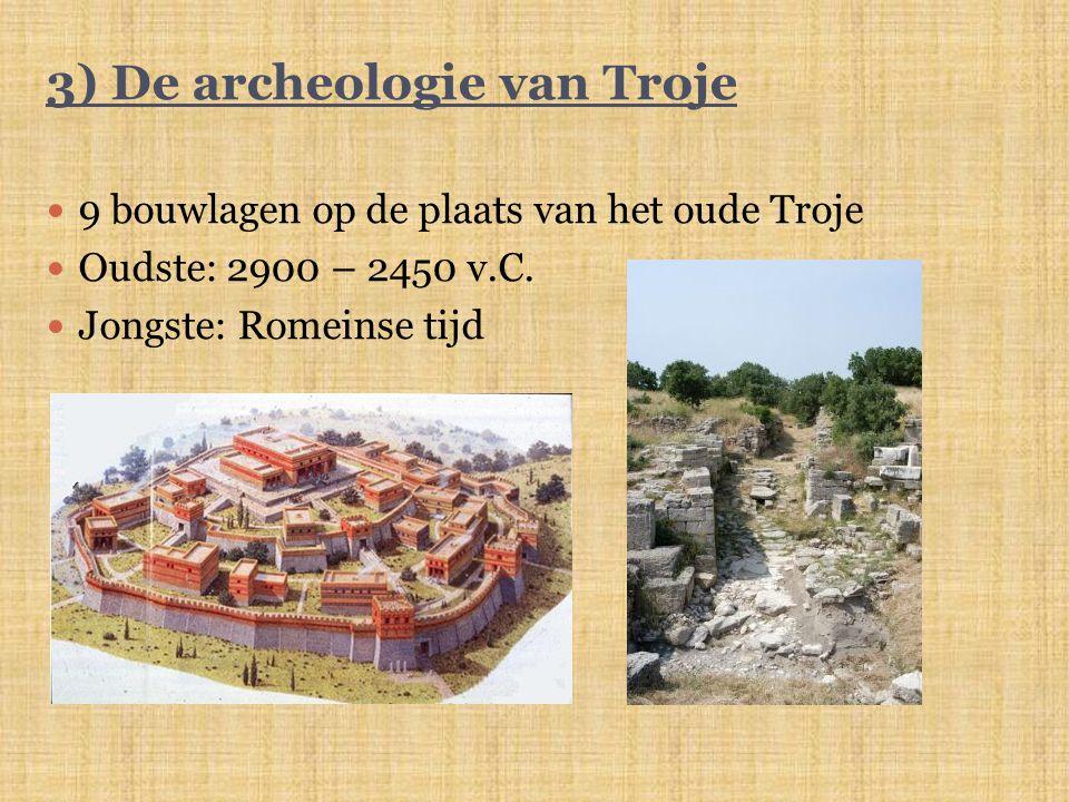 3) De archeologie van Troje