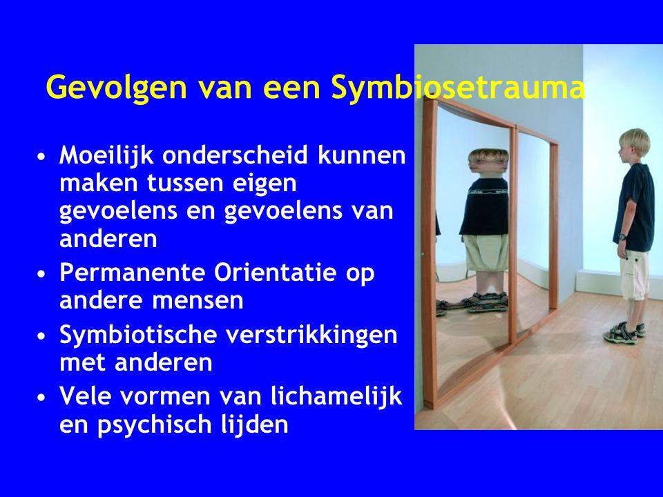 Gevolgen van een Symbiosetrauma