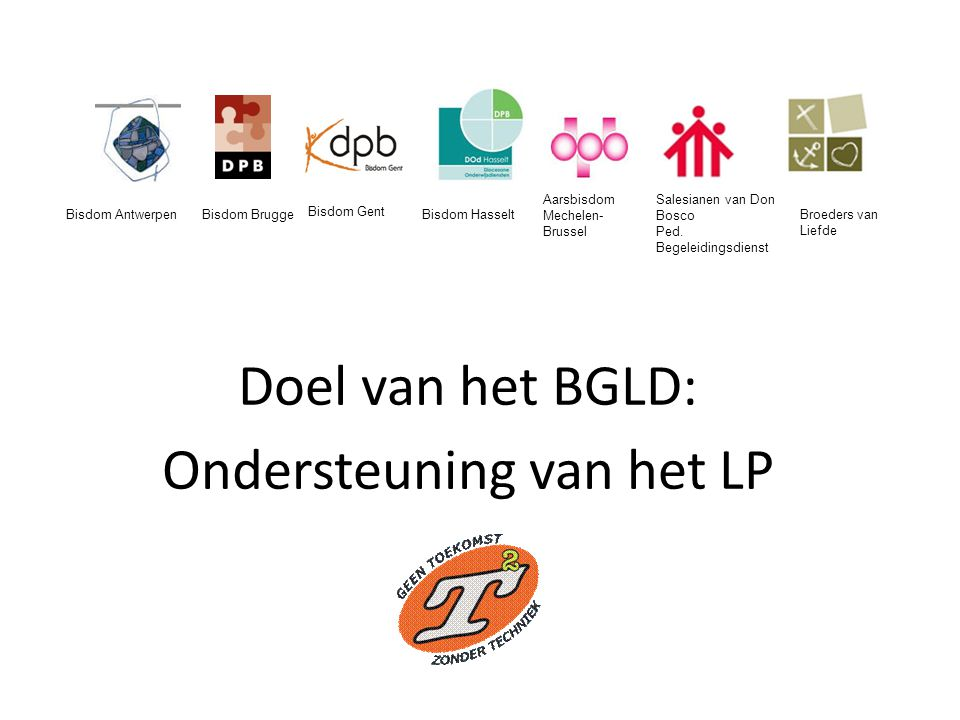 Doel van het BGLD: Ondersteuning van het LP