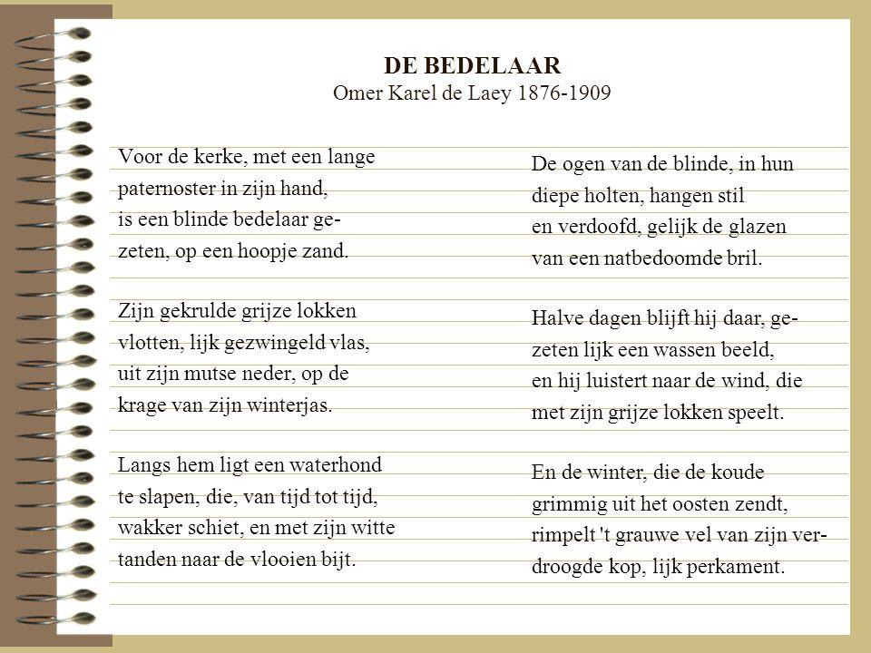 DE BEDELAAR Omer Karel de Laey 1876-1909