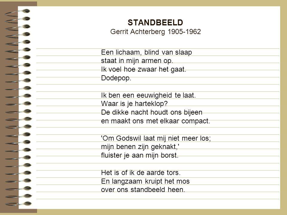STANDBEELD Gerrit Achterberg 1905-1962