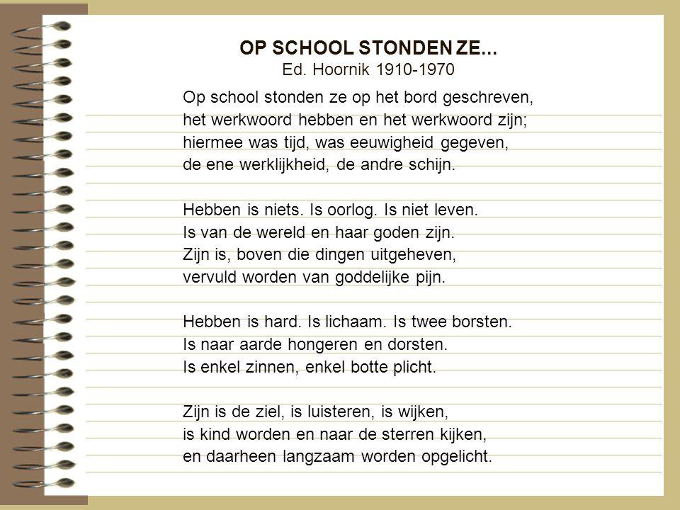 OP SCHOOL STONDEN ZE... Ed. Hoornik 1910-1970