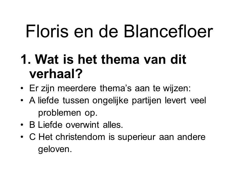 Floris en de Blancefloer