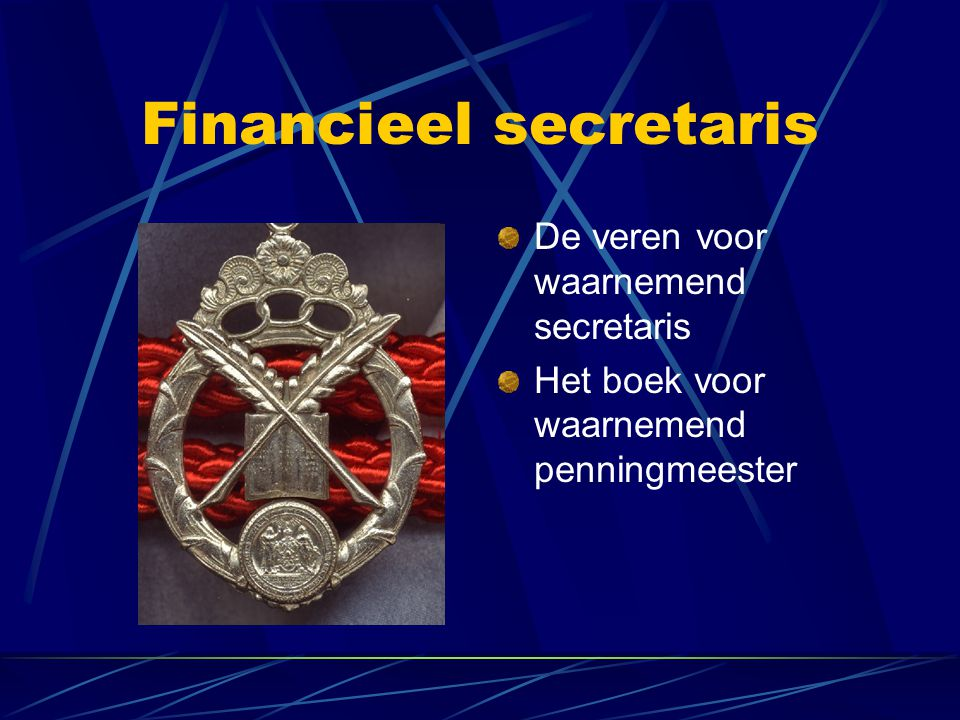 Financieel secretaris