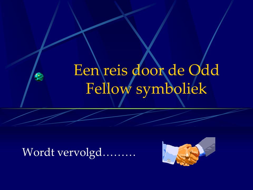 Een reis door de Odd Fellow symboliek