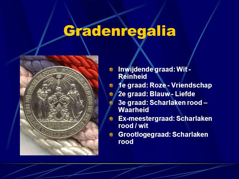 Gradenregalia Inwijdende graad: Wit -Reinheid