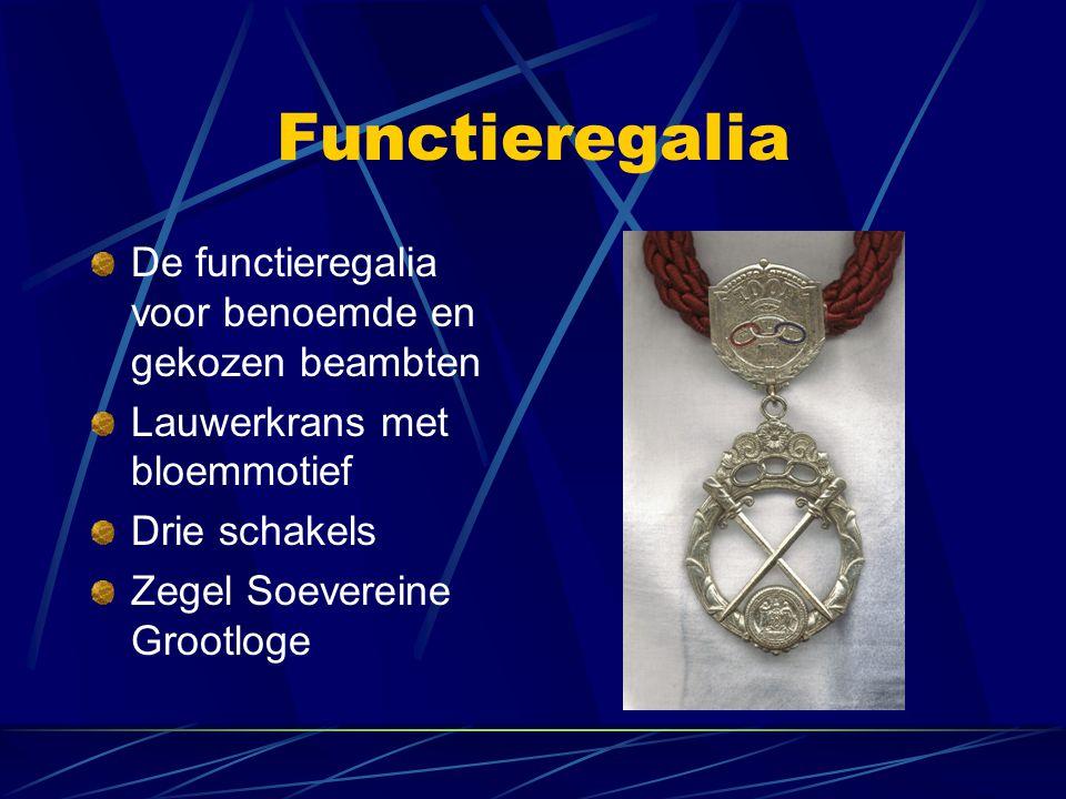 Functieregalia De functieregalia voor benoemde en gekozen beambten