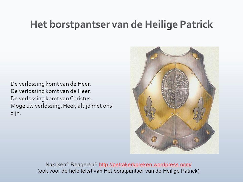 Het borstpantser van de Heilige Patrick