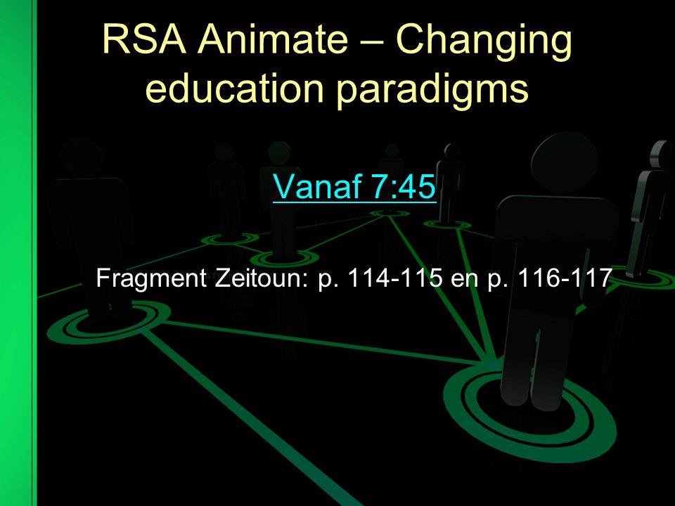 RSA Animate – Changing education paradigms