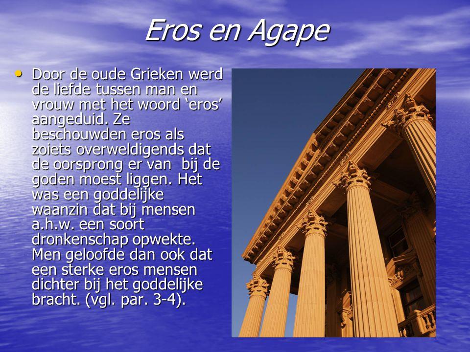 Eros en Agape