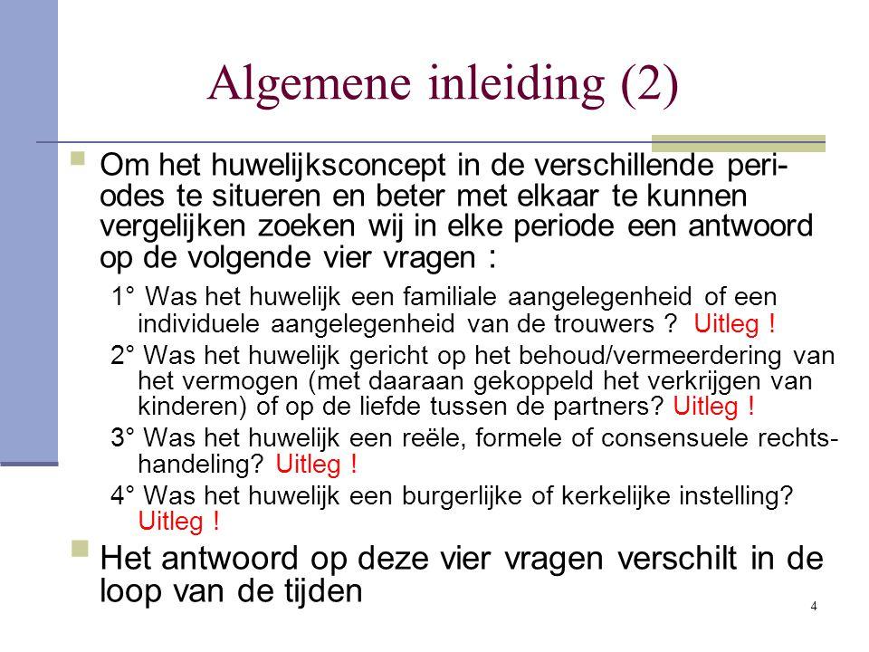 Algemene inleiding (2)