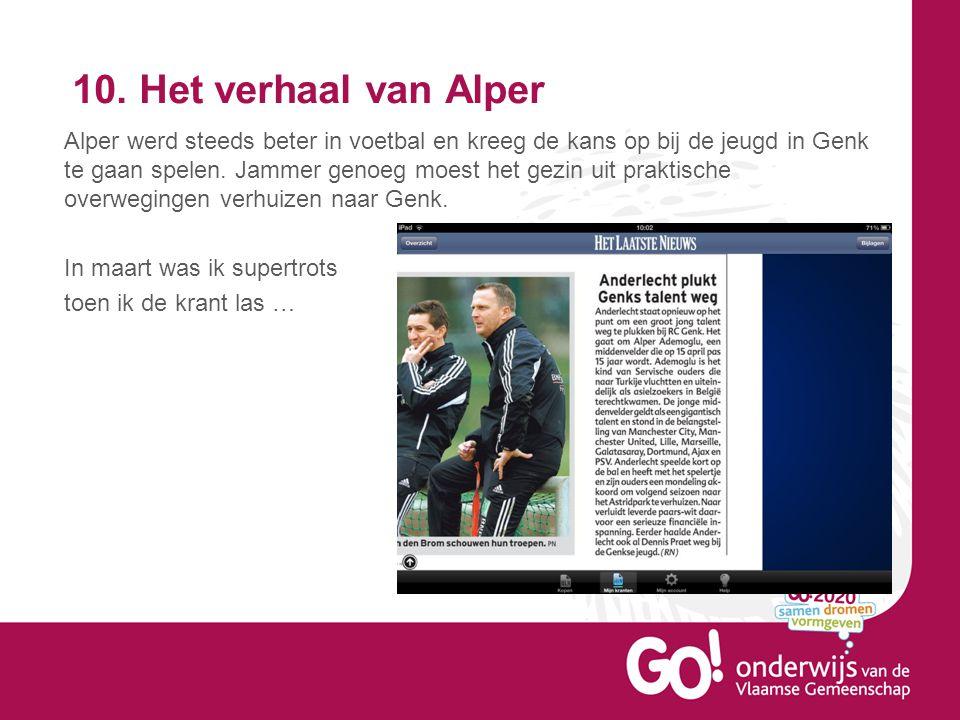 10. Het verhaal van Alper