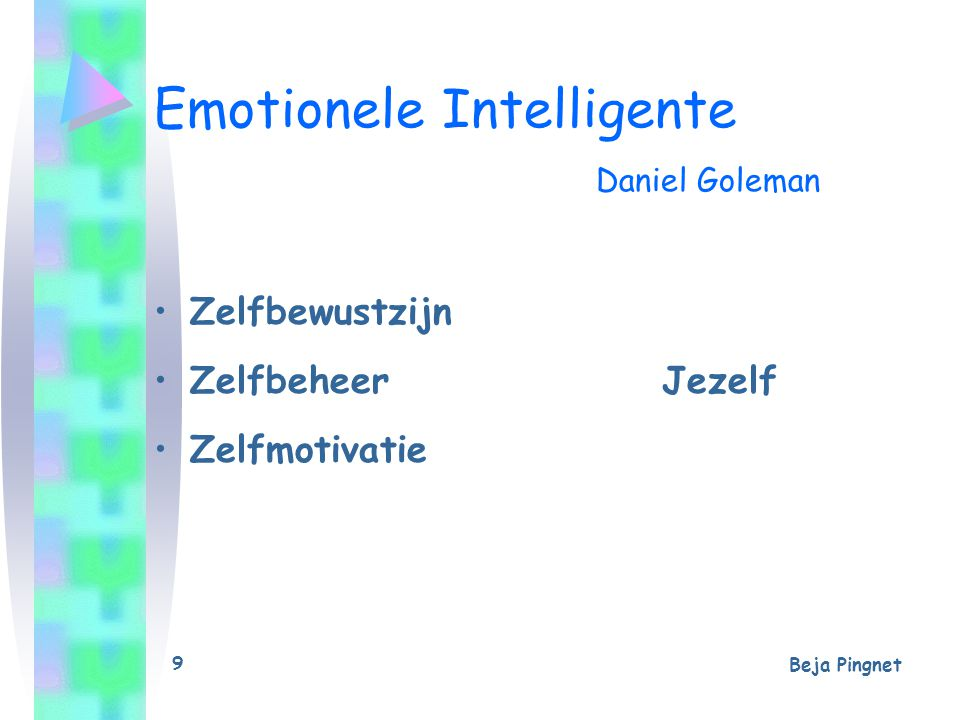 Emotionele Intelligente Daniel Goleman