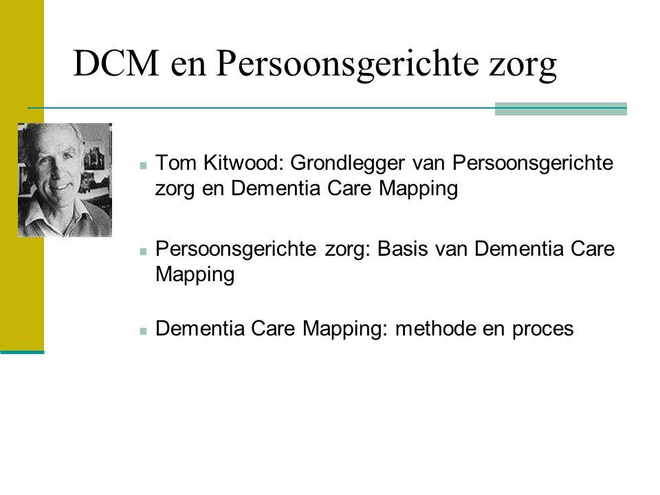 DCM en Persoonsgerichte zorg