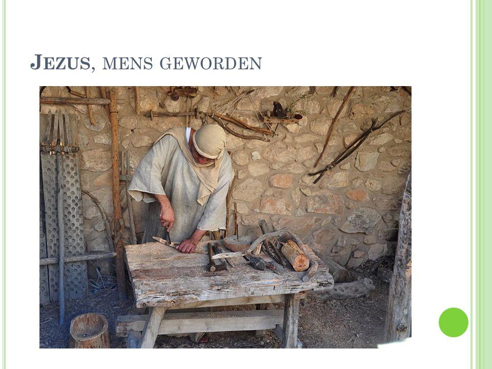 Jezus, mens geworden