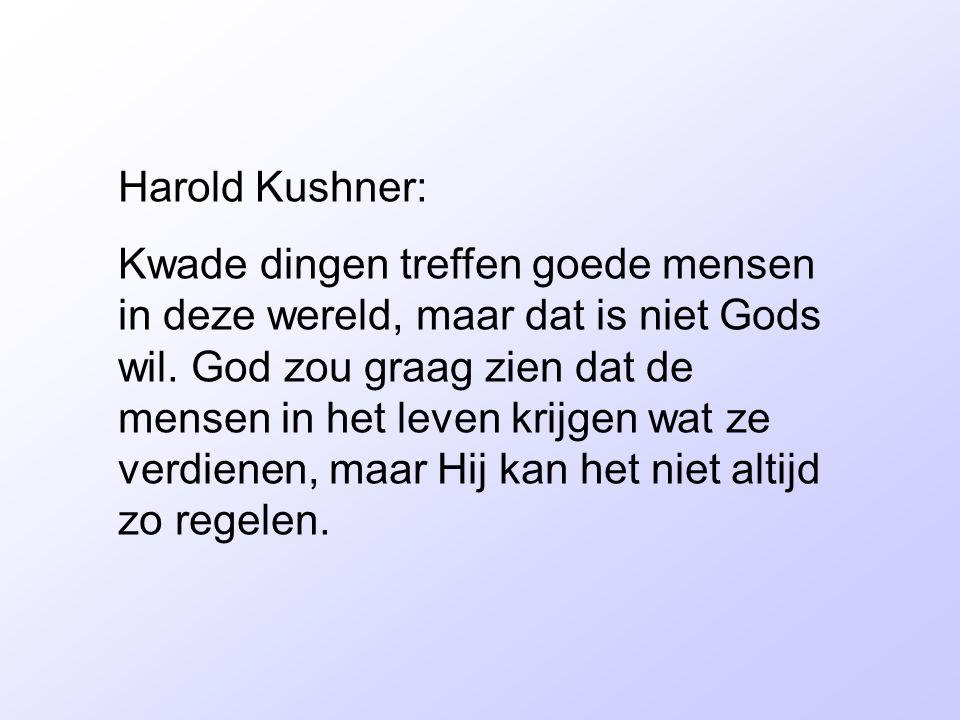 Harold Kushner: