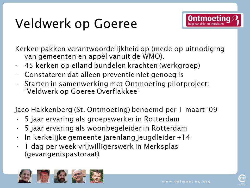 w w w . o n t m o e t i n g . o r g Veldwerk op Goeree.