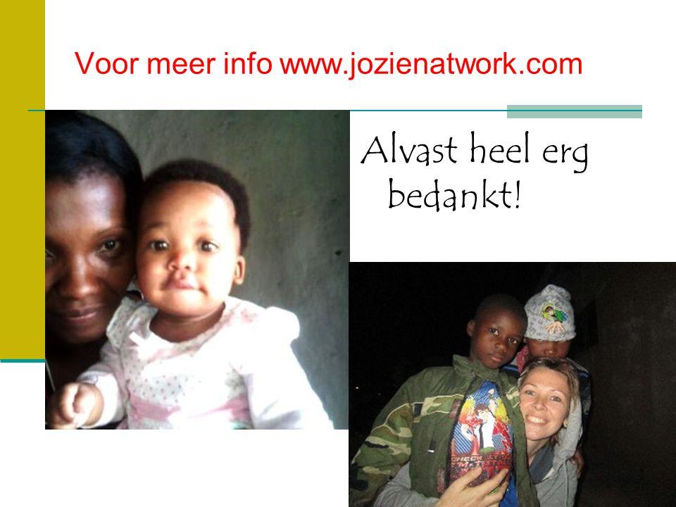 Voor meer info www.jozienatwork.com