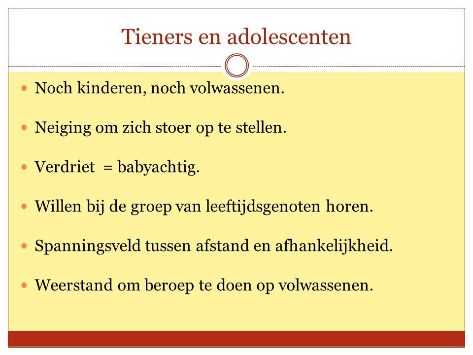 Tieners en adolescenten