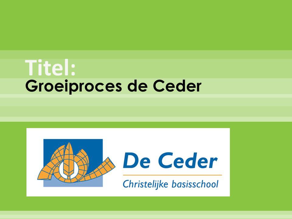 Titel: Groeiproces de Ceder
