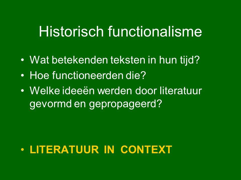 Historisch functionalisme