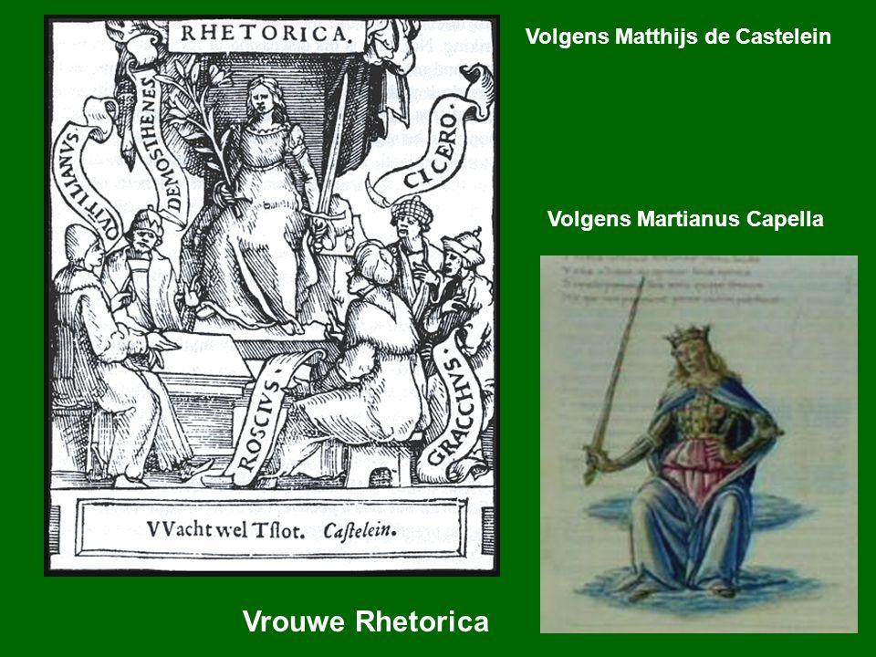 Vrouwe Rhetorica Volgens Matthijs de Castelein