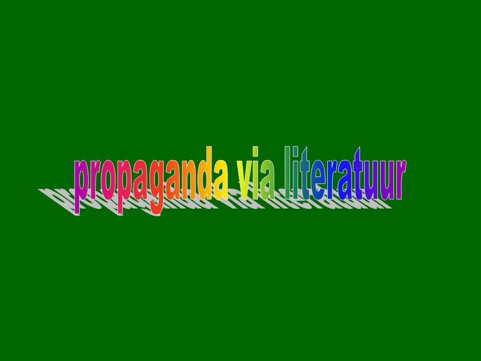 propaganda via literatuur