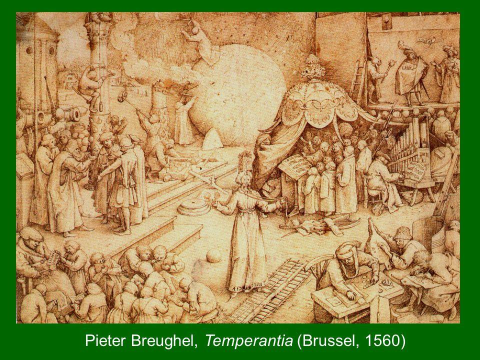 Pieter Breughel, Temperantia (Brussel, 1560)