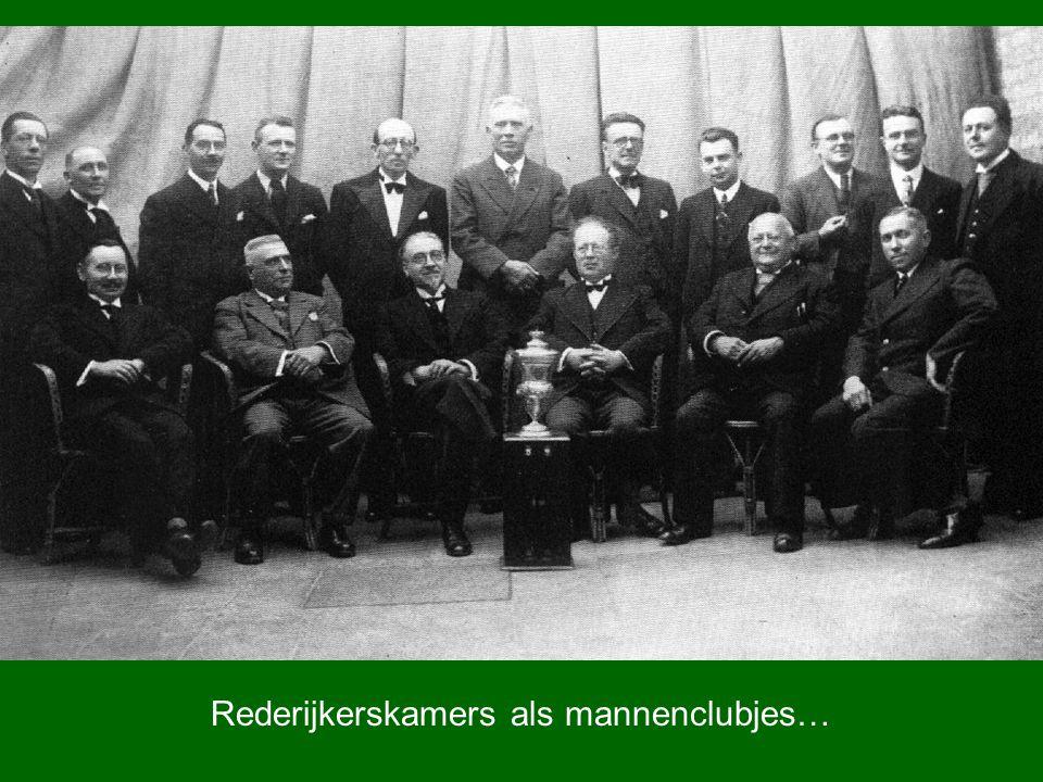 Rederijkerskamers als mannenclubjes…
