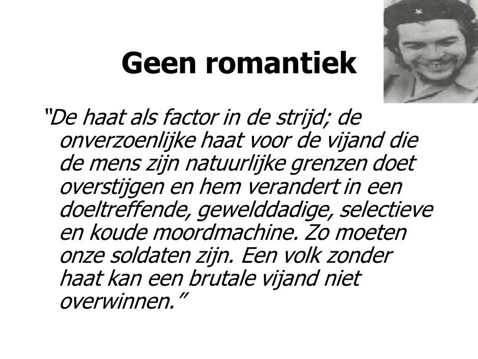 Geen romantiek