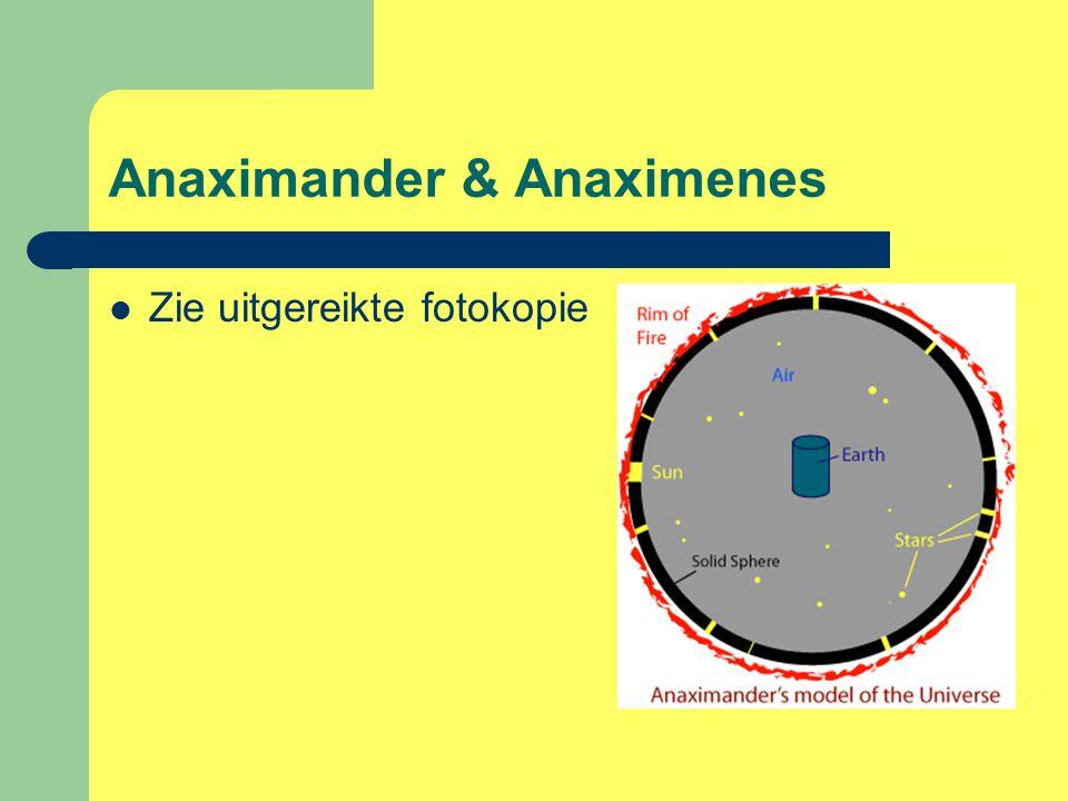 Anaximander & Anaximenes