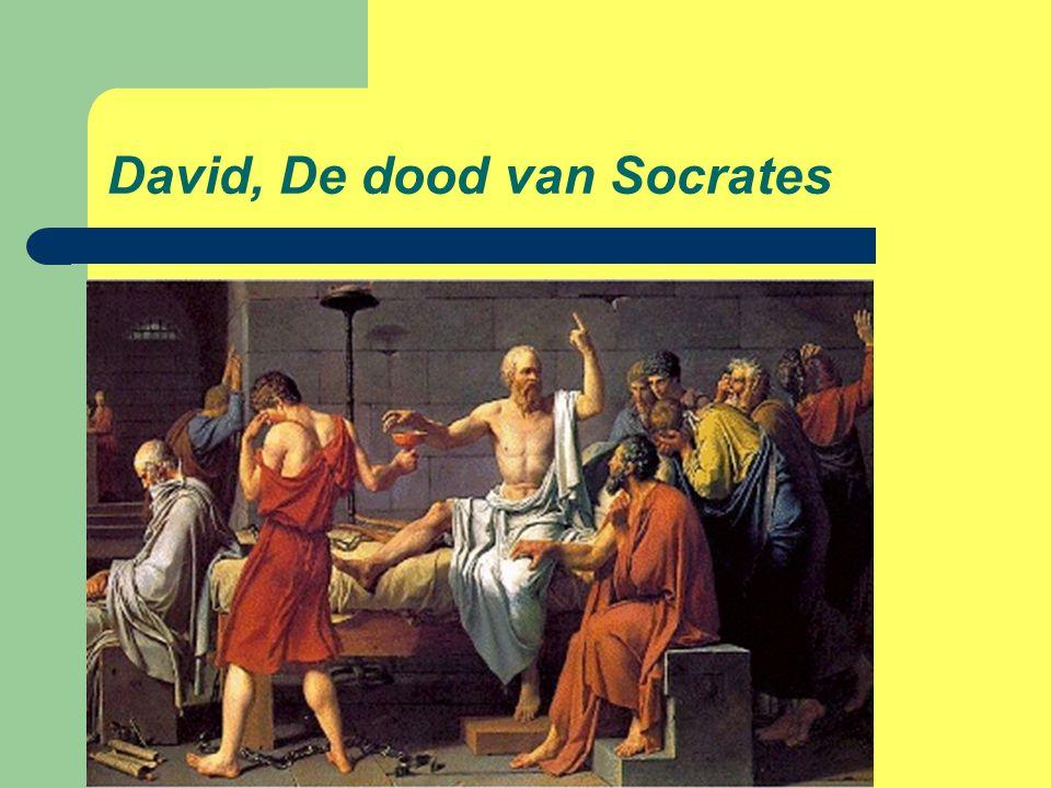 David, De dood van Socrates