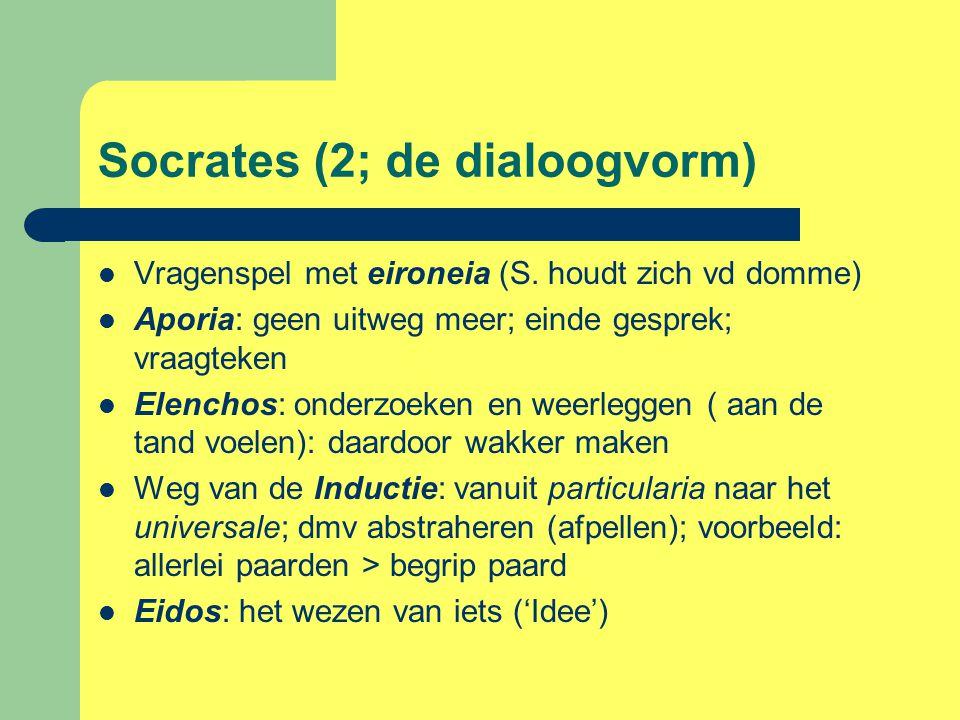 Socrates (2; de dialoogvorm)