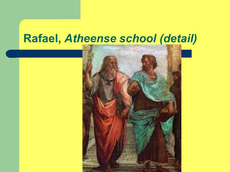 Rafael, Atheense school (detail)