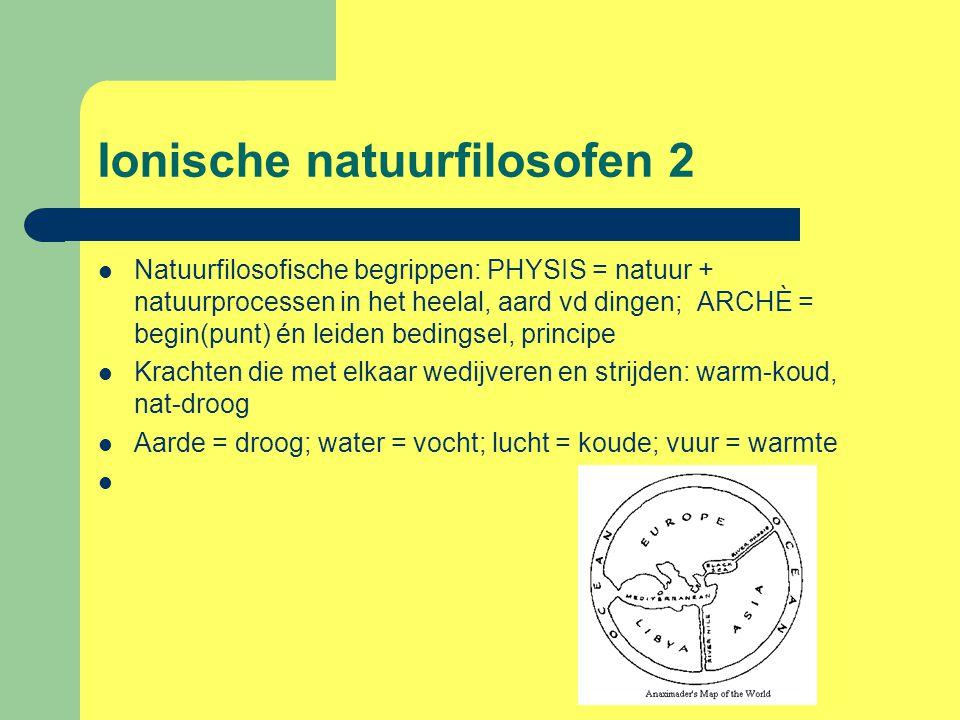 Ionische natuurfilosofen 2