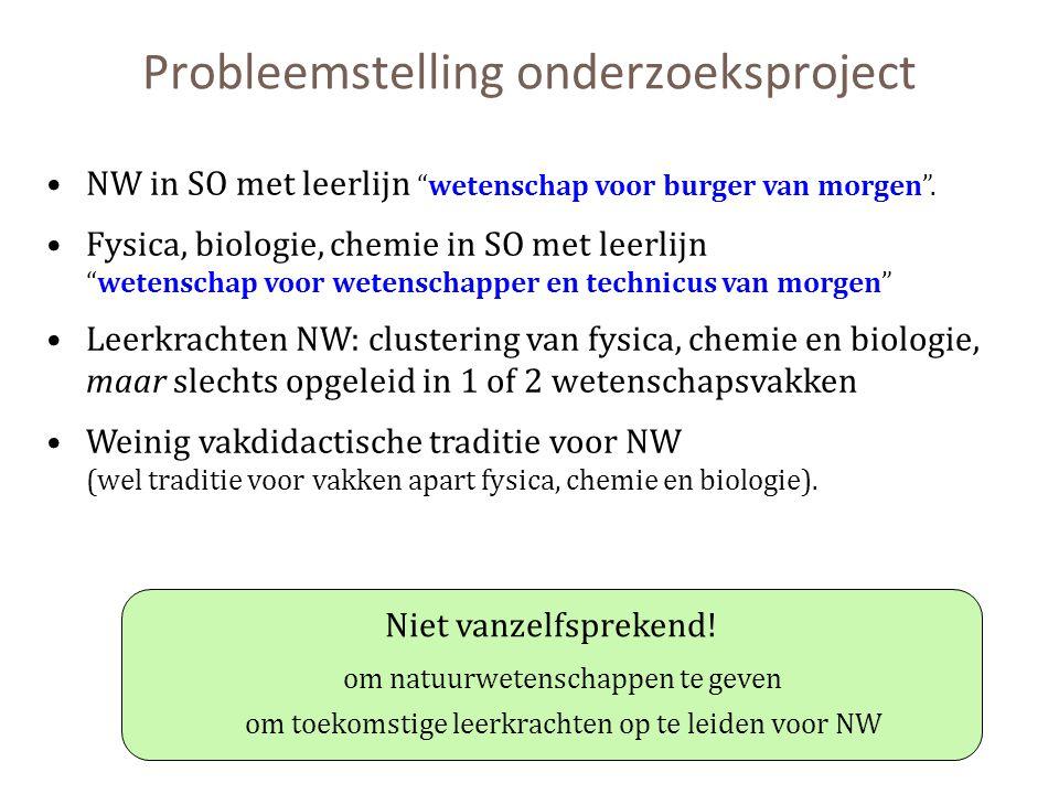 Probleemstelling onderzoeksproject