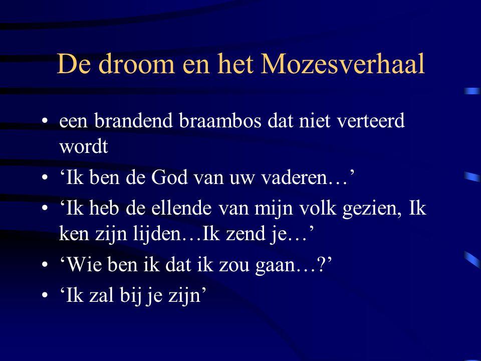 De droom en het Mozesverhaal