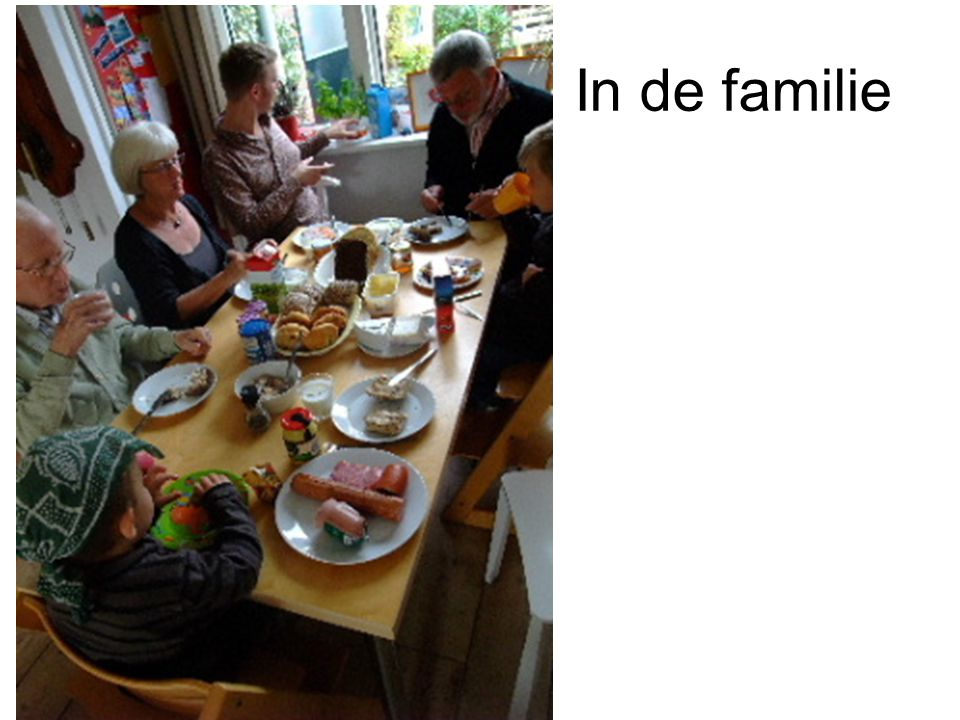 In de familie