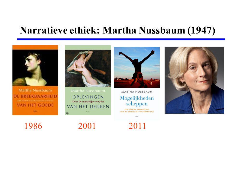 Narratieve ethiek: Martha Nussbaum (1947)